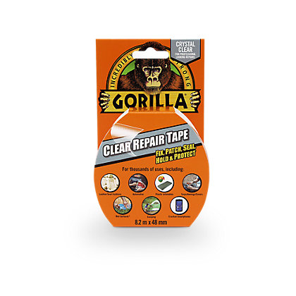 Image for Gorilla Clear Repair Tape 8.2m from StoreName
