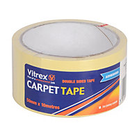Vitrex Double Sided CARPET TAPE 50mm X10m
