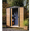 Rowlinson Woodvale Metal Shed - 8ft x 6ft