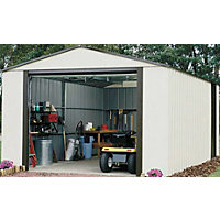 Rowlinson Murryhill Metal Garage - 12ft x 17ft
