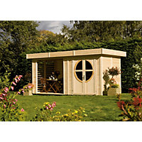 Rowlinson Connor Cabin - 8ft 4in x 7ft 4in