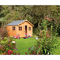 Rowlinson Playaway Lodge Playhouse - 8x8ft