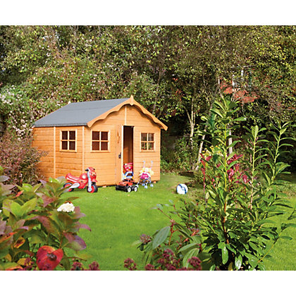 Image for Rowlinson Playaway Lodge Playhouse - 8x8ft from StoreName