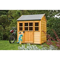 Rowlinson Little Lodge Playhouse - 4x4ft