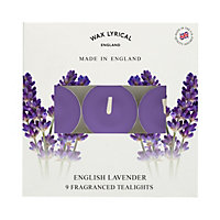 9 English Lavender Tealights