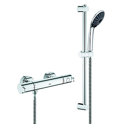 Image for GROHE Wave Cosmo Thermostatic Shower from StoreName