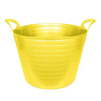 Yellow 42L Flexi Tub