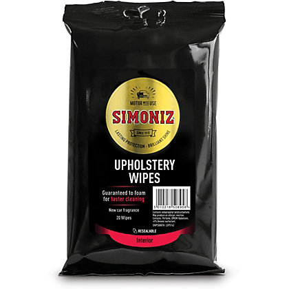 Image for Simoniz Upholstery Wipes from StoreName