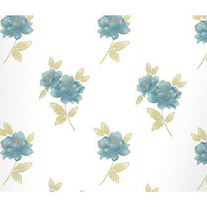Image for Graham & Brown Lulu Teal from StoreName