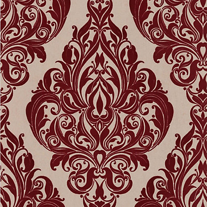 Image for Kinky Vintage Wallpaper - Red Pink from StoreName