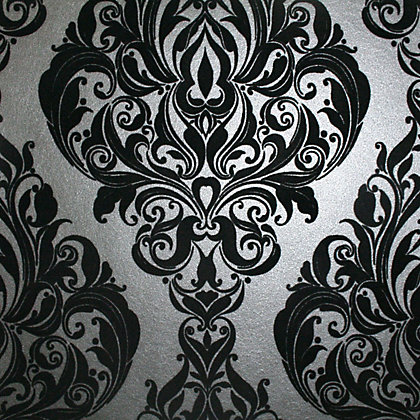 Image for Kinky Vintage Wallpaper - Black from StoreName