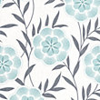 Superfresco Easy Paste the Wall Flora Wallpaper - Teal