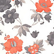 Superfresco Easy Paste the Wall Eden Wallpaper - Orange