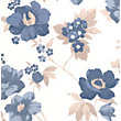 Superfresco Easy Paste the Wall Eden Wallpaper - Blue