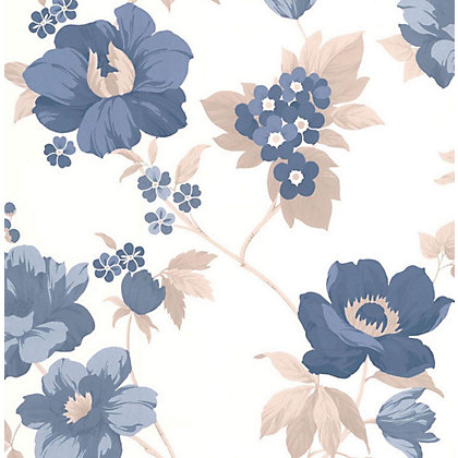 Image for Superfresco Easy Paste the Wall Eden Wallpaper - Blue from StoreName