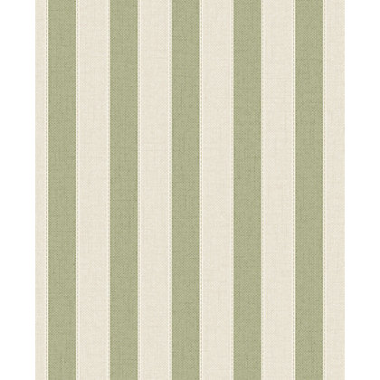 Image for Superfresco Ticking Stripe Wallpaper - Green from StoreName