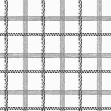 Image for Superfresco Plaid Wallpaper - Grey from StoreName