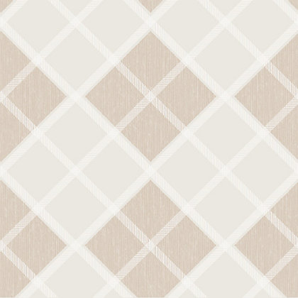 Image for Superfresco Argyle Wallpaper - Neutral from StoreName