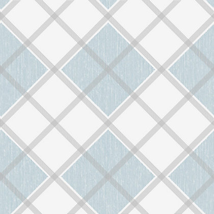 Image for Superfresco Argyle Wallpaper - Blue from StoreName