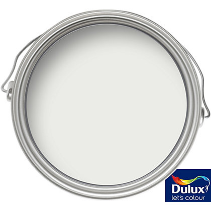 Image for Dulux White Cotton - Silk Emulsion Paint - 5L from StoreName