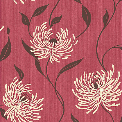 Image for Crown Lola Wallpaper - Rustic Red from StoreName