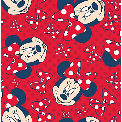 Image for Disney Minnie Red Bow Wallpaper - Red from StoreName