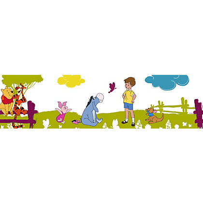 Image for Disney Winnies Summer Stroll Wallpaper Border - Multi from StoreName