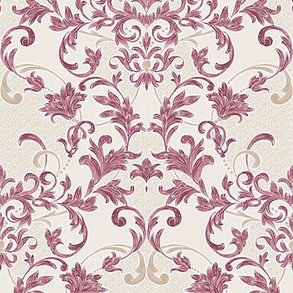 Image for Superfresco Abigail Wallpaper - Red from StoreName