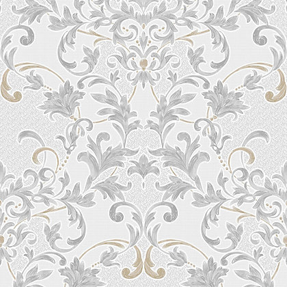 Image for Superfresco Abigail Wallpaper - Grey from StoreName