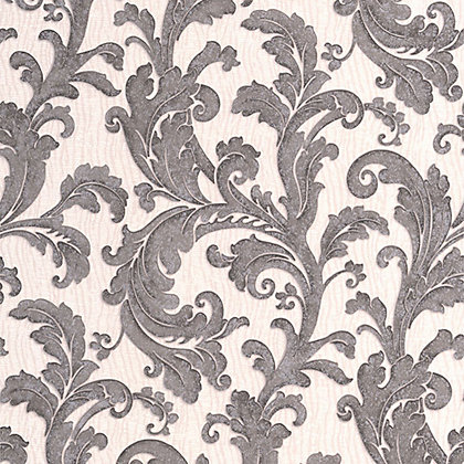 Image for Capulet Wallpaper - Charcoal from StoreName