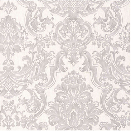 Image for Montague Wallpaper - Silver from StoreName