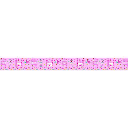 Image for Princess Pink Wall Frieze - 0.23 x 2.5m from StoreName