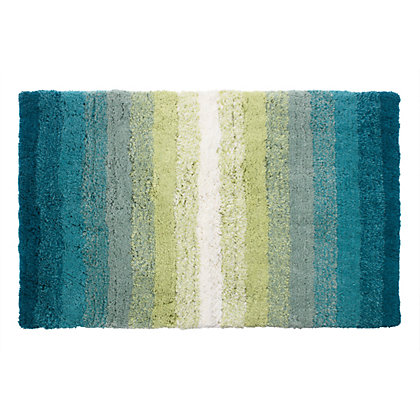 Image for Eden Ombre Bath Mat - Green and Neutral from StoreName