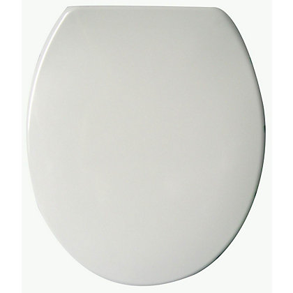Image for Duroplast Soft Closing Toilet Seat - White from StoreName