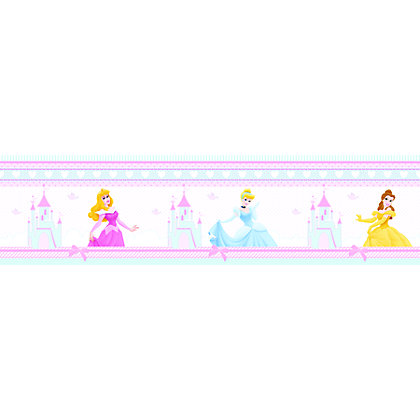 Image for Princess Fairytale Dream Wallpaper Border from StoreName