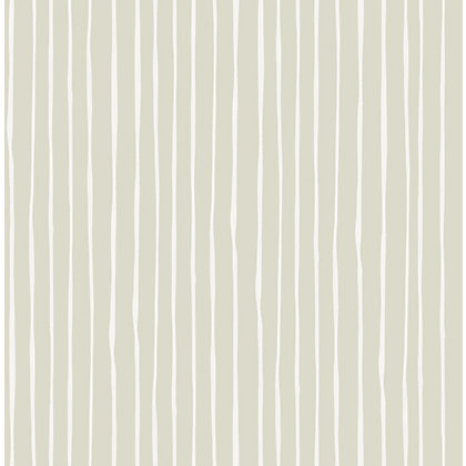 Image for Graham & Brown Candy Stripe Wallpaper - Natural from StoreName