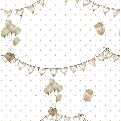 Image for Graham & Brown Efelump Wallpaper - Natural from StoreName