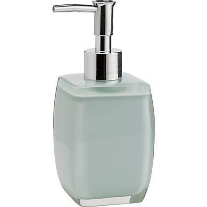 Image for Soft Cube Resin Soap Dispenser - Duck Egg from StoreName