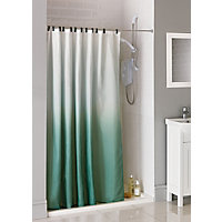 Ombre Fabric Shower Curtain