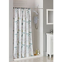 Hedgerow Trail Fabric Shower Curtain