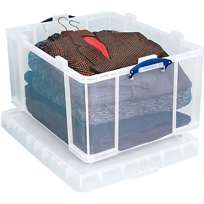 Image for Really Useful 145L Storage Box - Clear from StoreName