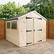 Mercia Ultimate Shed - 8ft x 8ft