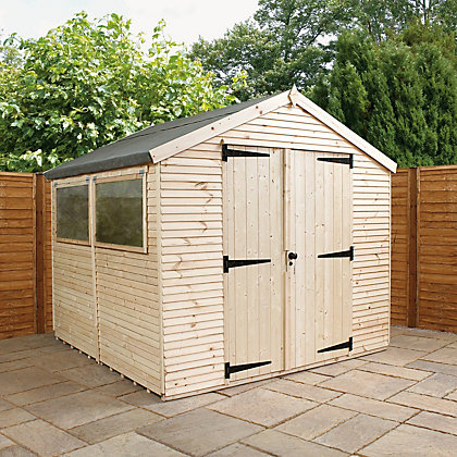 Image for Mercia Ultimate Shed - 8ft x 8ft from StoreName