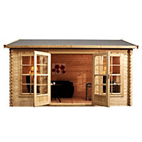 Mercia Home Office Log Cabin - 14ft 9in x 11ft 5in