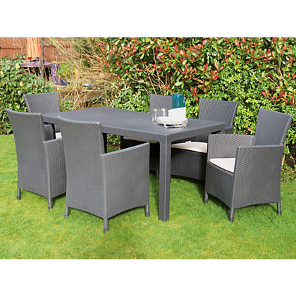 Keter Montana 6 Seater Garden Furniture Set At Homebase Be Inspired And Make Your House A
