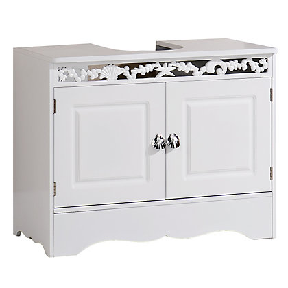 Image for Coral Bathroom Under Basin Unit - White from StoreName