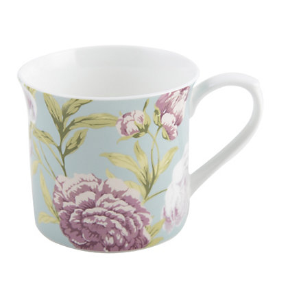 Image for Ditsy Floral Fine China Mug - Pink from StoreName