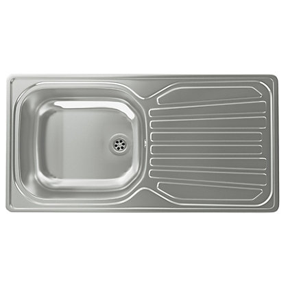 image for carron phoenix precision plus 90 compact kitchen sink 1 bowl from storename - Compact Kitchen Sink
