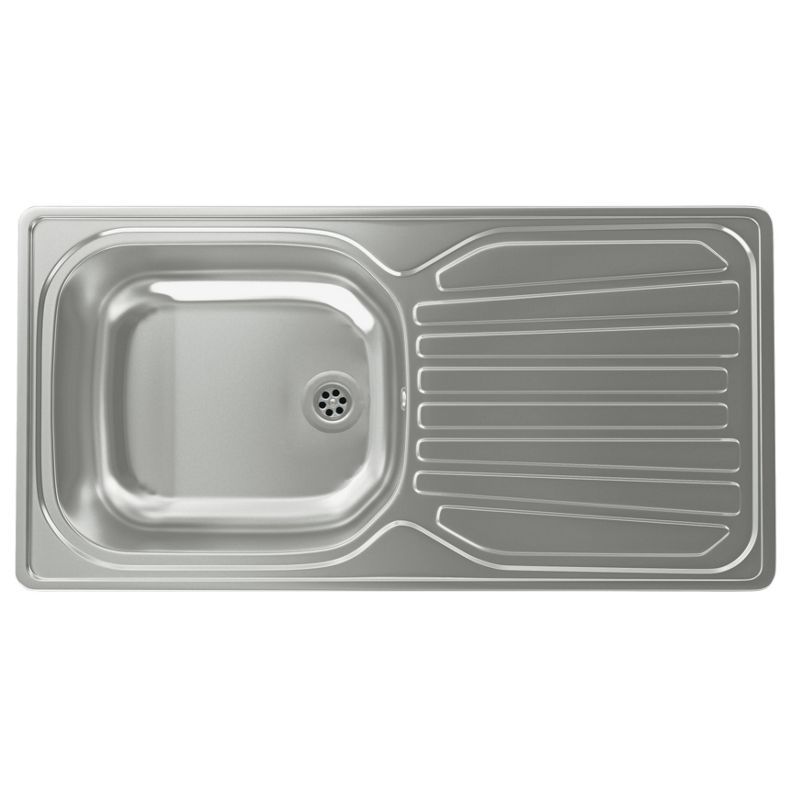 Carron Phoenix Janus Kitchen Sink Composite Black Kitchen Sink 1 Bowl ...