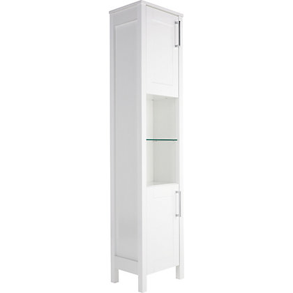 Image for Winslow Tall Freestanding Unit - White from StoreName
